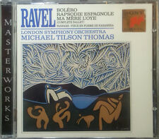 CD RAVEL - Bolero, rapsodie espagnole, MA MERE L'Oye, TILSON THOMAS, NEUF -