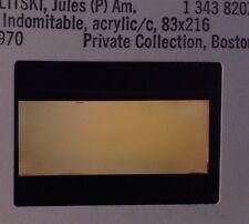 """Jules Olitski """"3 Indomitable"""" 35mm Art Slide. Color Field Abstract Expressionism"""