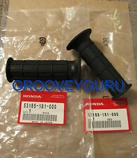 Honda Z50R Z50 R Hand Grips Genuine Honda XR70 CRF70 53165-181-000 53166-181-000