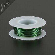 Magnet Wire, Enameled Copper, Green, 18 AWG (gauge), HPN, 155C, 1/8 lb, 25ft