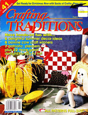 Crafting Traditions Magazine Jul/Aug '98 - 41 Crafts ALL FULL SIZE PATTERNS