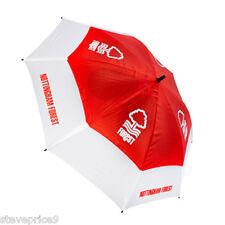 FORESTA Nuovo di Zecca NOTTINGHAM FC Doppio Canopy Ombrello da golf.