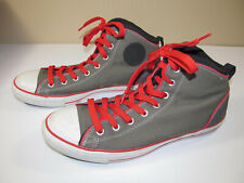 Converse All Star Padd Padded Collar Hi top Grey/Green/Red Men's Shoes 12 EUC