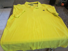 Express Fitted Polo Shirt - 2XL - Yellow