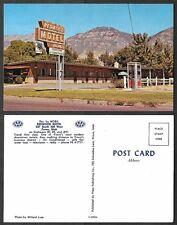 Old Utah Postcard - Provo - Redwood Motel