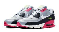 Nike Air Max 90 Essential Grey/Pink Mens Shoes Size 10 AJ1285 020 (With box)