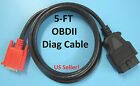 OBD2 OBDII Replacement Main Data Cable For Mac Tools ET129 Scan Tool Scanner