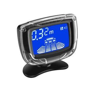 LCD Display Auto Reverse Radar Monitor Detector Car Alarm Car Parking Sensor Kit