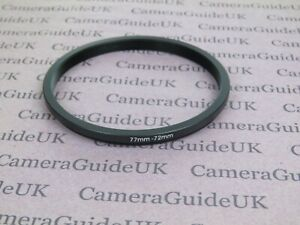 77mm to 72mm 77mm-72mm Stepping Step Down Filter Ring Adapter