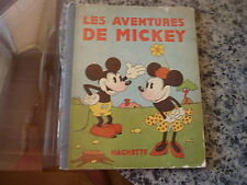 Les Aventures De Mickey by Walt Disney. Scarce 1931 edition in French.
