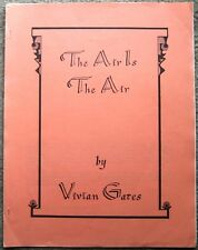 "Star Trek TOS Fanzine ""The Air Is the Air""  SLASH Novel"