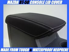 MAZDA BT-50 MK2 NEOPRENE CONSOLE LID COVER (WETSUIT FABRIC) OCT 2015 - CURRENT