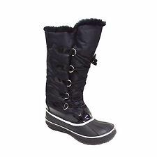 Women's Tall Winter Snow Boot Waterproof Water Resistant Fleece Lined Marley-06