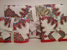 POTTERY BARN Adina Medallion QUILT Full / Queen & 2 Euro SHAMS Bohemian Sold Out