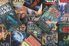Lot of 5 Star Wars Mass Market Paperback Books MIX