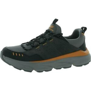 Skechers Mens Delmont - Sonaro Leather Sneakers Athletic Shoes BHFO 5530