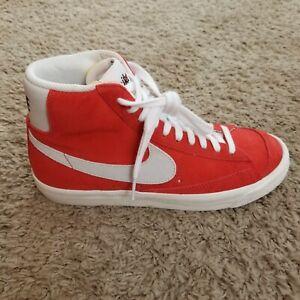 Nike Blazer Mid 77' Suede ( CZ1088-600 ) Habanero Red / White -  Men's Size 7