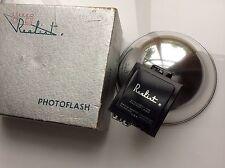 stereo realist camera flash bulb photoflash reflector clean, box 3d david white