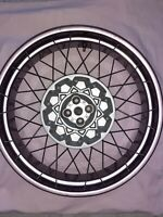 BMW r 1150 GS rear wire spoke wheel adonized