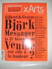 Beaux Arts Magazine N°252 Art africain contemporain Chaplin Canaletto Cassandre