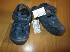 Next young boys navy blue sandals size 10 eur 28 brand new tags enclosed toes