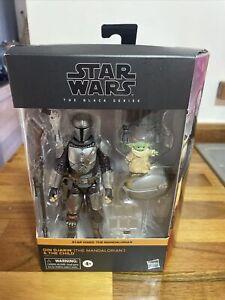 "Star Wars Black Series 6"" Din Djarin Mandalorian And Child Yoda No 05"