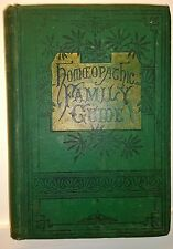 Homeopathic Family Guide, I D Johnson, 1895, Boericke & Tafel - RARE -Good