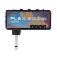 Vitoos Electric Guitar Plug Mini Headphone Amp Amplifier Plexi Sound Compac K4I3