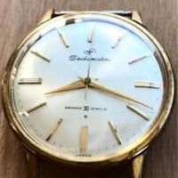 Vintage Men's Seiko Watch J14074D Seikomatic 30 stones Automatic wl3635
