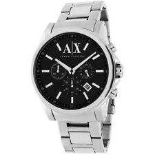 Armani Exchange Silver Mens Analog Business Active Chronograph AX2084