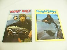 KNIGHT RIDER BUCH DIN A4 VIELE FOTOS HARDCOVER 1982 DAVID HASSELHOFF + MAL HEFT