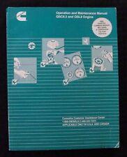 CUMMINS QSC8.3 QSL9 DIESEL ENGINE OPERATOR & MAINTENANCE MANUAL + CD DISC CLEAN