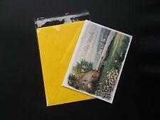 200 Clear Resealable Cello Cellopane Envelopes A2+ 4 5/8 x 5 3/4