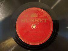 RARE LABEL 78 SUNSET California 1165 Charles Beauchamp Prisoner's Song E/E-