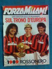 FORZA MILAN - gennaio 1989 / VAN BASTEN - GULLIT - RIJKAARD