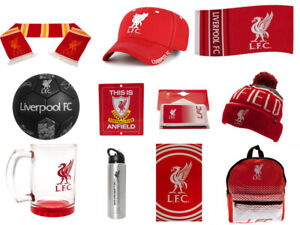 Liverpool FC Official Merchandise Gifts /Birthdays/Christmas FREE(UK)P+P
