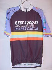 Sugoi Cycling Bicycle Jersey - Best Buddies Hearst Castle - Mens Size Medium