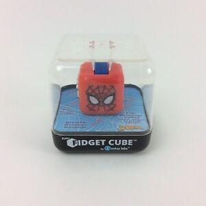 Marvel SPIDER-MAN Fidget CUBE 6 Unique Sides Dice Autism Adhd Stress Relief