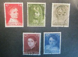 1957 Netherlands complete set Child - used