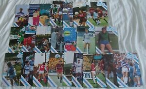 QPR Queens Park Rangers 1986/87 Complete Set Home Programmes x 24