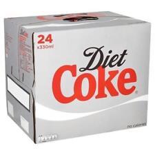 Coca-Cola Coca Cola DIET COKE boisson peut 330 ml ref 0402004 [Pack 24] - 04020