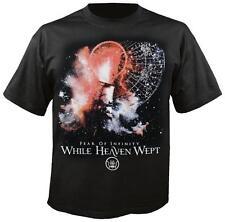 WHILE HEAVEN WEPT - Fear Of Infinity Tour 2011 - T-Shirt - Größe Size XL - Neu