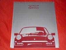 PORSCHE 911 964 Carrera 2 Tiptronic Prospekt Brochure Depliant von 1990