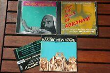 3xcd Hasidic New Wave Psycho-Semitic KFR203/294 1xpromo cd ex