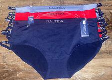 Nautica ~ 3-Pair Women's Hipster Underwear Panties Nylon Blend ~ 3X