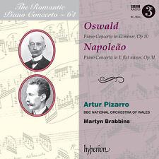 Oswald / Napoleao / - Romantic Piano Concerto 64 / Pno Con in G minor [New CD]