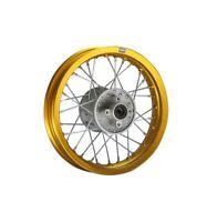 HMparts PIT BIKE DIRT BIKE CROSS cerchio alluminio anodizzato 12 POSTERIORE ORO