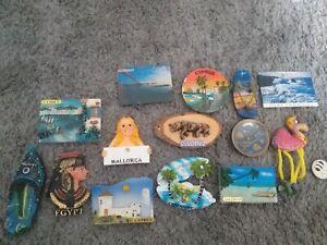 Fridge magnets bundle joblot x14 overseas foreign  tourist pieces