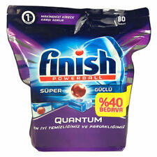 Finish Quantum Powerball Super Dishwashing Tablets Dishwasher Cleans Dishes