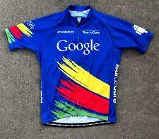 Capo Google 2015 Tour de Cure Road Cycling Jersey Full Zip XL Italy diabetes